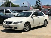2005 Honda Accord Euro CL White 5 Speed Automatic Sedan Greenslopes Brisbane South West Preview