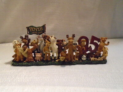 Boyds Bear Boyds Bears & Buddies 25 Years And Counting LE 228444PAW New