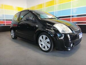 2008 Citroen C2 MY06 VTR Black 5 Speed Sequential Manual Hatchback Wangara Wanneroo Area Preview