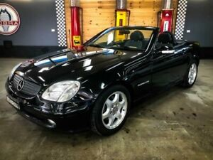 2002 Mercedes-Benz SLK230 202 Kompressor Black 5 Speed Automatic Convertible Fyshwick South Canberra Preview
