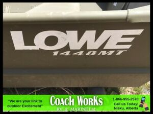 2018 LOWE JON BOAR, 25 HP RATING JUST LOAD AND GO !