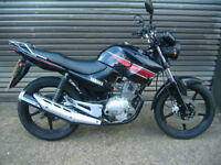 YAMAHA YBR 125 BLACK 2013 hpi clear