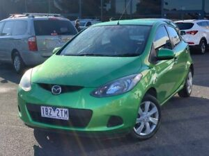 2010 Mazda 2 Green Automatic Hatchback Hoppers Crossing Wyndham Area Preview