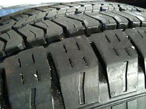 1 pneu P 245-65 R 17 .  30$