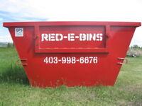 NEW!! Red-E-Bins Calgary, 5 & 10 Yard Bins, All in Pricing!!