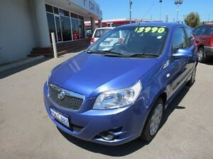 2008 Holden Barina 97000kms Blue 5 Speed Manual Hatchback Victoria Park Victoria Park Area Preview