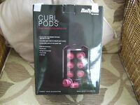 Babyliss curl pods . as new ,