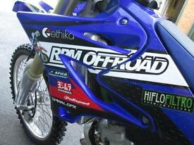 YAMAHA YZ125 2005 ROAD REGISTERED CBT MX MOTO CROSS OFF ROAD BIKE