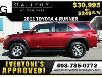 2011 Toyota 4Runner SR5 AWD $249 bi-weekly APPLY NOW DRIVE NOW