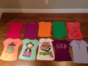 Lot of Girls summer clothes size 6/7