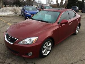2006 Lexus IS 250 6 SPEED MANUAL