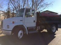 Snow removal and general hauling/ dump services
