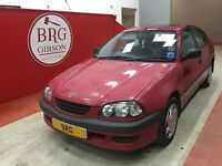 Toyota Avensis 1.8 GS (red) 1998