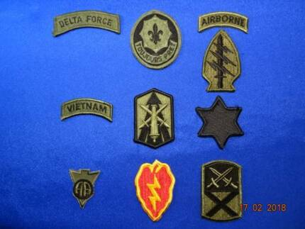 MILITARIA – US ARMY SHOULDER SLEEVE INSIGNIA