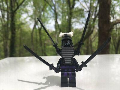 Lego Ninjago Lord Garmadon 4 Arms Minifigure