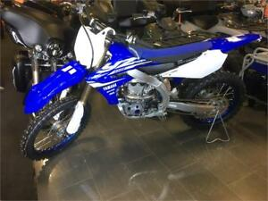 2018 Yamaha YZ450 4-stroke efi, electric start $10199