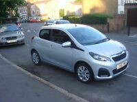 Peugeot 108 1.0 Active 5dr 0 ROAD TAX