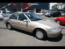 1998 Ford Falcon EL Futura Gold 4 Speed Automatic Sedan Kingsville Maribyrnong Area Preview