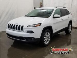 Jeep Cherokee Limited V6 4x4 Cuir MAGS Volant Chauffant 2014