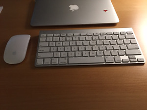Apple Wireless Magic Mouse and Keyboard package