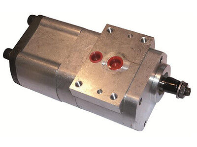 New Mf Power Steeringtandem Pump 3382280m1 1 Year Warranty