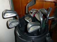 Titelist DC1 Golf clubs and quality Wilson bag.