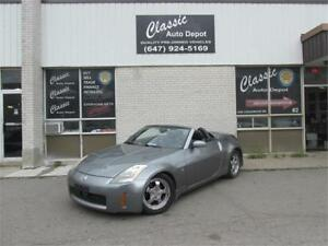 2005 NISSAN 350z **ONLY 137,000KM**LEATHER**CONVERTIBLE**
