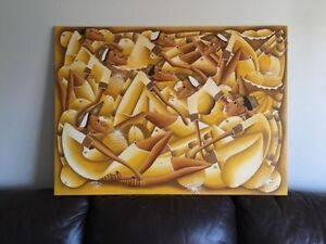 Large Painting on canvas London Ontario image 1