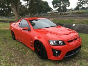 2009 Holden Special Vehicles Maloo E Series MY08 Upgrade R8 Red Hot 6 Speed Manual Utility Mayfield East Newcastle Area Preview