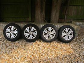 """Genuine VW Transporter T5 Highline 16"""" alloy wheels"""