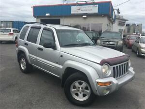 JEEP LIBERTY LIMITED 2002 AUTO/AC/MAGS/4X4/FULL/TRÈS PROPRE !!!