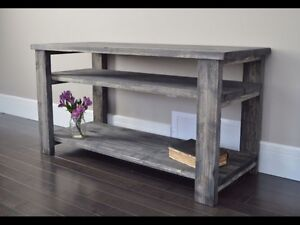 TV Stand, Media Shelf, Entertainment Unit. New and Built Local