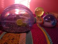 Hamster et cage à vendre