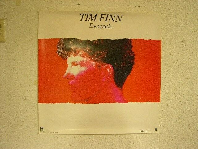 Tim Finn Poster Crowded House Split Enz Old