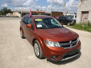 2012 DODGE JOURNEY R/T AWD SUV REMOTE START, SAFETIED, $11,450!