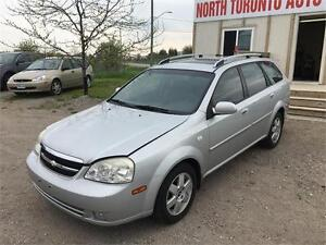 2005 CHEVROLET OPTRA WGN LS - LOW KM - 4CYLINDER - AUTOMATIC