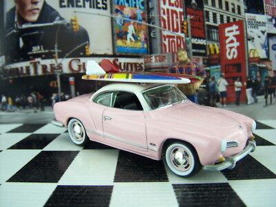 '17 JOHNNY LIGHTNING 1964 VW VOLKSWAGEN KARMANN GHIA LOOSE SURF RODS SERIES