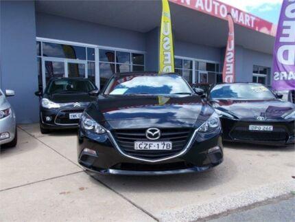 2015 Mazda 3 BM MY15 Neo Black 6 Speed Manual Hatchback Fyshwick South Canberra Preview