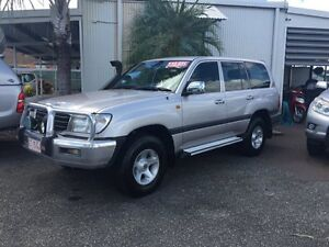 2002 Toyota Landcruiser GXL Silver 5 Speed Manual Wagon Hidden Valley Darwin City Preview