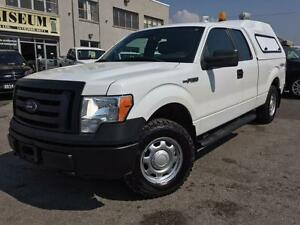 2010 Ford F-150 XL  4X4 **UNICOVER CAP-CARGO EASE BED SLIDE**