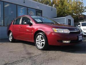 2004 SATURN ION * SUNROOF * AUTOMATIC * GAS SAVER * LOADED *