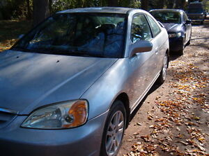 2002 Honda Civic SI Coupe (2 door)