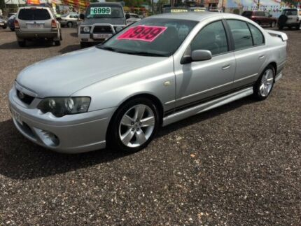 2006 Ford Falcon BF XR6 Silver 4 Speed Auto Active Select Sedan Durack Palmerston Area Preview