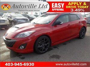 2013 Mazda speed3 263HP TECH NAVI LOW KM