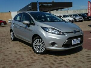 2013 Ford Fiesta WT LX PwrShift Silver 6 Speed Sports Automatic Dual Clutch Hatchback Morley Bayswater Area Preview