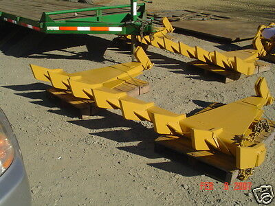 "dozer blade root rake, 100"" wide, 990 lbs AR400 steel NEW, USA Attachments"