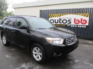 2009 Toyota Highlander V6 ( AWD - 7 PASSAGERS - LIQUIDATION )