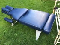 Used V Solidly built Lloyd Stationary Table / Bench - Chiropractic/Osteopathic