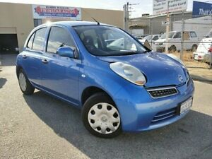 2010 Nissan Micra K12 Blue 4 Speed Automatic Hatchback Malaga Swan Area Preview