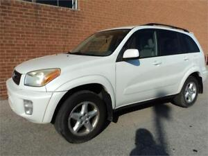2003 Toyota RAV4 4WD AUTO 4CYL RECENT TRADE IN